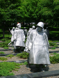 Korean War Memorial.