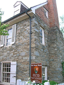 Old stone house, oldest building in DC. 1765.