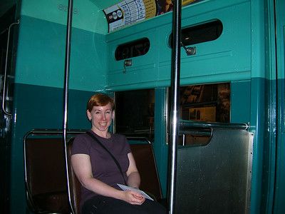 1950's Chicago street car, Museum of American History