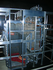 Model of boiler, Industrial revolution, Museum of American History