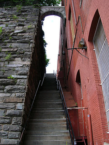 Exorcist stairs, Georgetown