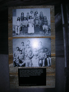 "Native American school, ""Separate but not equal"", Museum of American History."