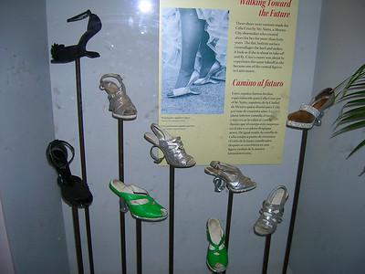 Celia Cruz's shoes, Museum of American History