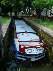 We're sinking!! C and O canal, Georgetown