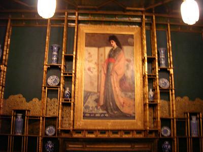 Whistler's Peacock Room.  Freer Gallery.