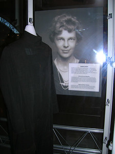 Earhart's flight suit, Nat'l Air and Space.
