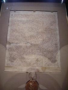 Magna Carta.