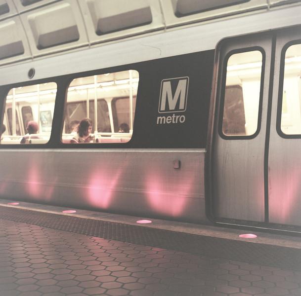Metro. Still functioning. Hasselblad 500c/m, Kodak New Portra 160
