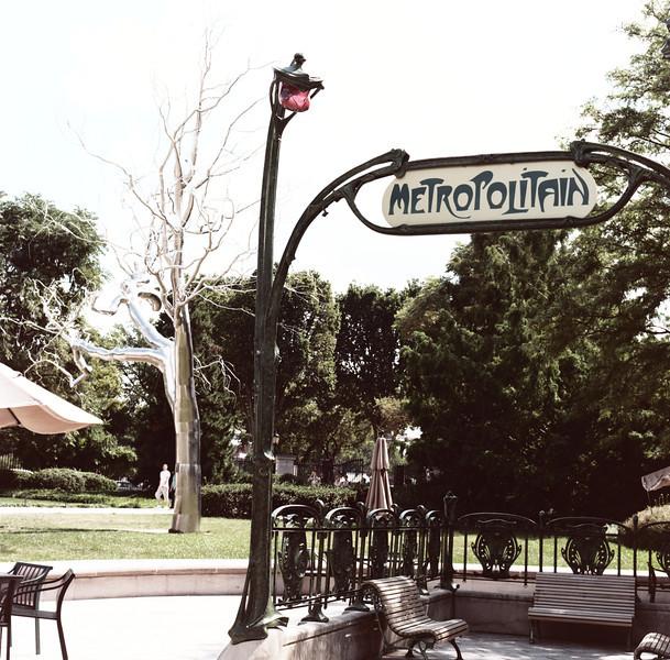 National Sculpture Garden. Hasselblad 500c/m, Kodak New Portra 160.