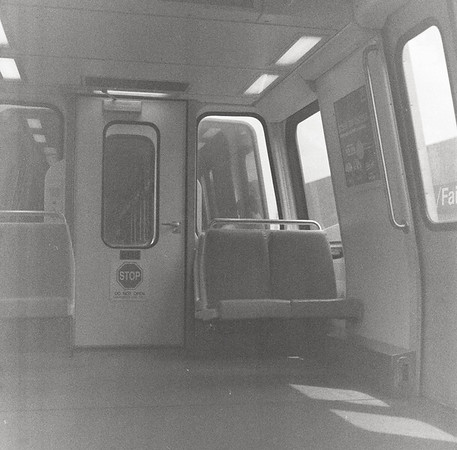 Metro. Functioning. Hasselblad 500c/m, Kodak Royal-X Pan (expired)
