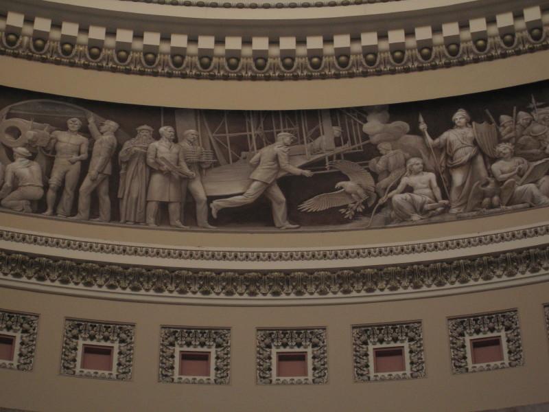 Citadel detail, US history.