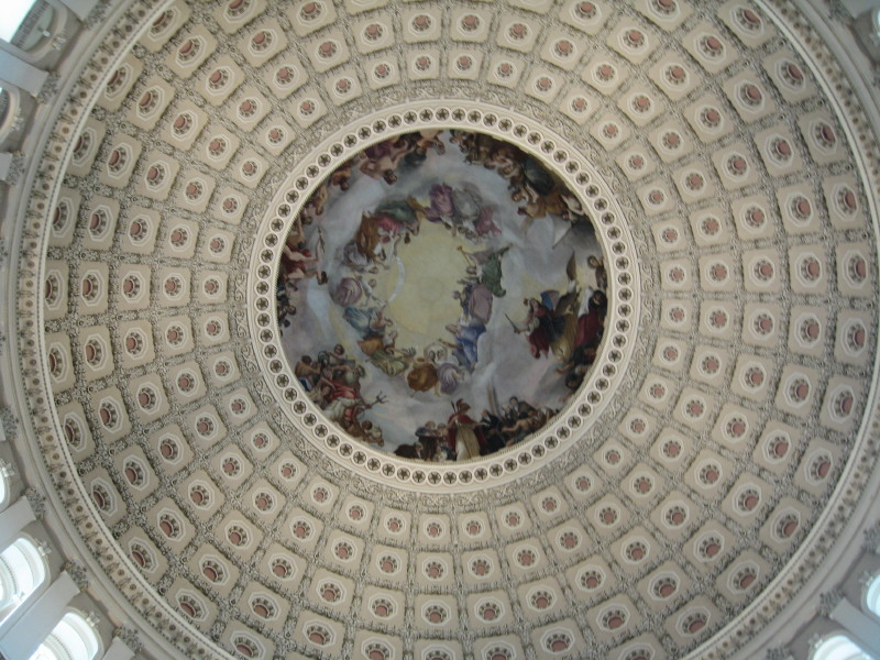 The Citadel dome.