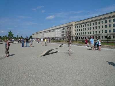 Washington DC's latest 911 Memorial at the Pentagon