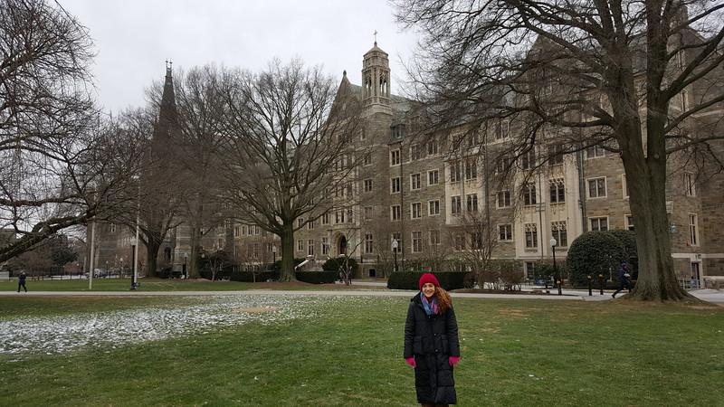 Kate at Georgetown
