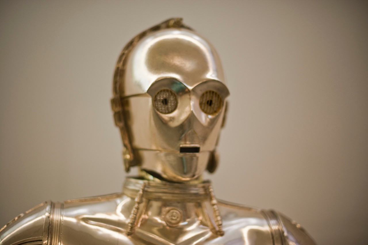 C3PO.  From Smithsonian's Treasures of American History.