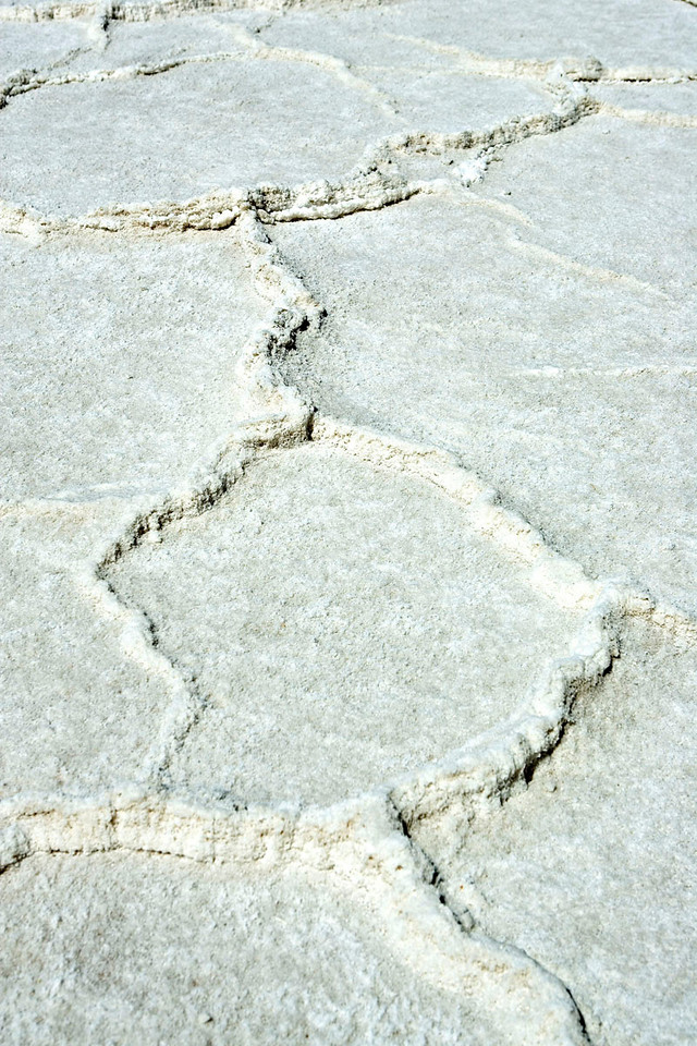 SALT FORMATIONS AT BADWATER