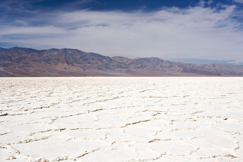 SALT FLATS OF BADWATER