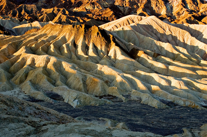 """THE ELEPHANT'S FOOT"" - ZABRISKIE POINT BADLANDS"