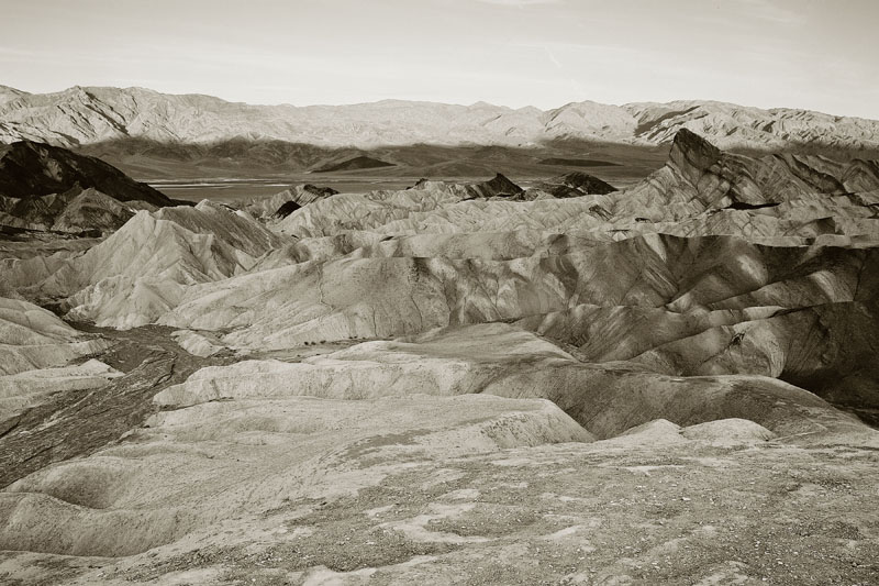ZABRISKIE POINT, B&W