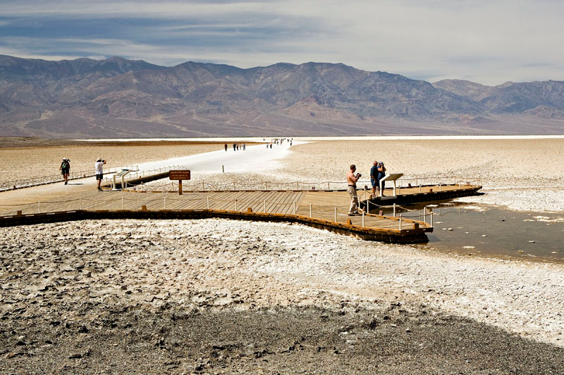 BADWATER BASIN-282 FEET BELOW SEA LEVEL