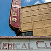 The abandoned Carver Medical Clinic in Treme, New Orleans
