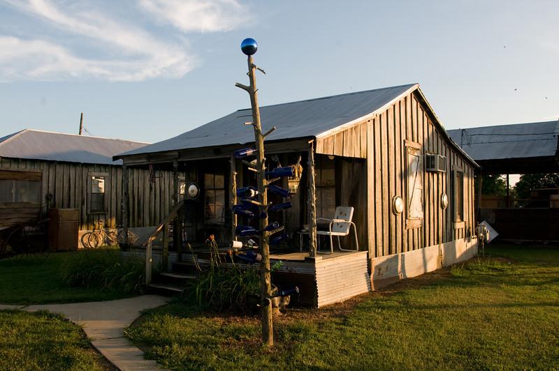 A rentable shack at Hopson Plantation outside of Clarksdale, Mississippi