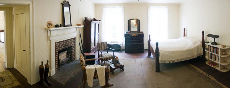 """William """"Wild Bill"""" Faulkner's bedroom"""