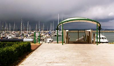 Approaching Storm, Portland Marina