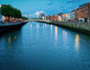 HA'PENNY BRIDGE OVER RIVER LIFFEY