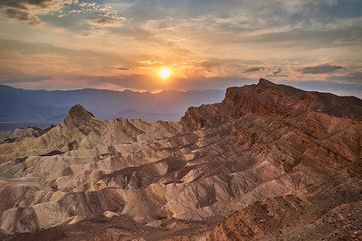 Manly Beacon - Death Valley National Park