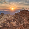 Zabriskie Point with Manly Beacon - Death Valley National Park