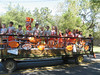Float in the Celina High School homecoming parade. Looks like the sixth grade team?