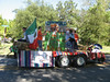 Spanish Club float at the Celina High School homecoming parade
