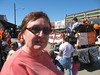 Mary Cay at the Celina High School homecoming parade, October 2007