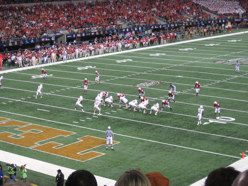 First play of the Big 12 title game, 2009