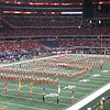 Longhorn Band at Big 12 Championship