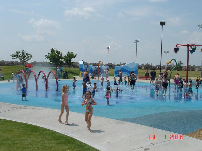 Celebration Park in Allen, Texas