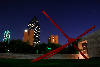 Dallas Museum of Art by Night