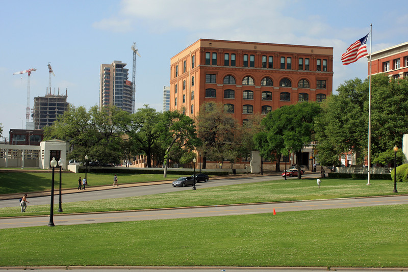Dealey Plaza and the Texas School Book Depository