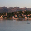 Lopud metropolis as the sun goes down