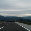 Towards the mountains: Under the overcast