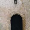 Ancient arch: At Otocec castle in Slovenia