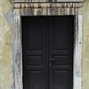The wooden door: At Otocec castle in Slovenia