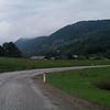 Slovenia mountain road