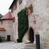 Inside the walls: At Otocec castle in Slovenia
