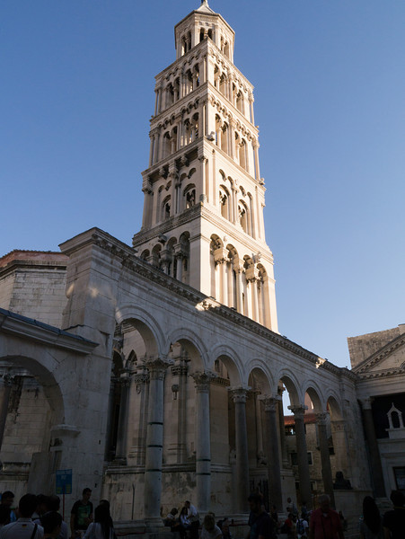 Formerly the emperor's tomb, then a cathedral, now a tourist location