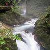 Rushing water: At Vintgar Gorge