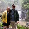 The family at the falls: At Vintgar Gorge