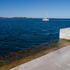 Zadar's Sea Organ: Below the pier, there are tubes in and out of which the lapping of the sea flows, and which generate beautiful music