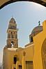 Cath. of St. John in Fira, Santorini, Greece
